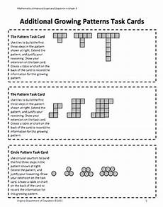 growing patterns worksheets pdf 216 12 best math number patterns images on number patterns math patterns and teaching ideas