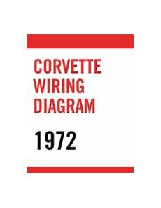 1972 Corvette Wiring Harnes Diagram by C3 1972 Corvette Wiring Diagram Pdf File Only