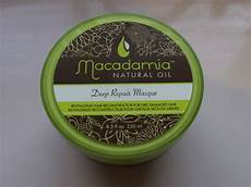 macadamia repair mask review with before after