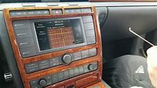how to remove radio navigation display from vw phaeton