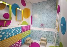 bagno bimbi 3digit motivi optical e colori accesi per il bagno dei bimbi