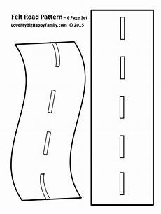 road vehicles coloring pages 16417 felt roadway pattern make your own roadway for the preșcolari șabloane și cărți