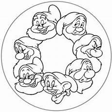 Zwerge Malvorlagen Ausdrucken Comic Disney 7 Mandala Malvorlagen M 228 Rchen Basteln Disney