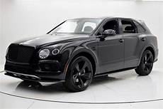 New 2018 Bentley Bentayga Black Edition For Sale Special