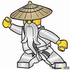 lego ninjago ausmalbilder sensei wu how to draw sensei wu lego ninjago