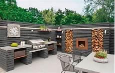 grillecke selber bauen grillplatz garten modern garten grill selber bauen coole
