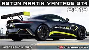 2019 ASTON MARTIN VANTAGE GT4 Review Rendered Price Specs