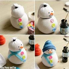25 Diy Snowman Craft Ideas And Tutorials For