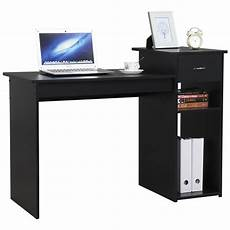walmart home office furniture small spaces home office black computer desk with drawer