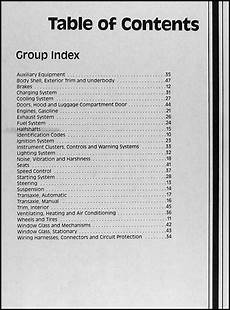 car repair manuals online pdf 1991 mercury capri engine control 1991 mercury capri and xr2 repair shop manual original
