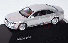 audi a8 d4 typ 4h modell 2010 eissilber herpa 1 87
