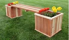 Blumenkasten Design Holz Holzbank Garten Au 223 Enbereich