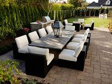 garden decking furniture patio design size and shape hgtv