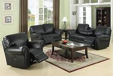 reclining living room l189m black