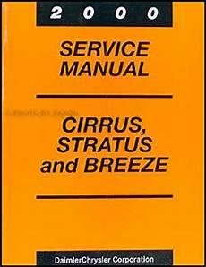 2000 cirrus stratus breeze repair shop manual original