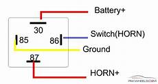 4 relay wiring diagram air horn wiring diagram