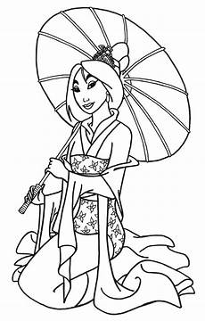 mulan disney free printable coloring pages colorpages org