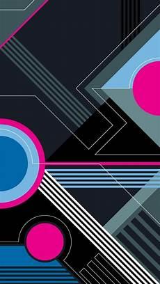 Wallpaper Geometric Keren pin oleh fenedhis lasa di colorful abstrak desain