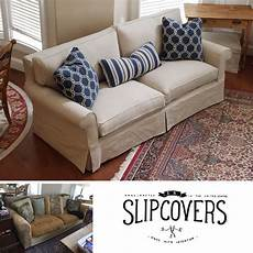 This Sofa Slipcover Received A Remarkable Makeover