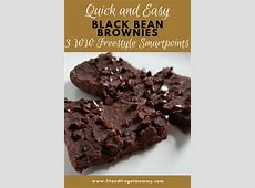 weight watchers black bean brownies   ww points   3_image