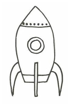 rakete malvorlage raketen ausmalbild zum ausmalen