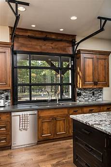Kitchen Door To Garage by Bend Oregon Lone Cow Pacific Home Builders