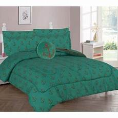 8 pc full anchor complete bed in a bag comforter bedding with friend and matching