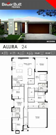 modern single storey house plans single storey house design allira 24 this smart