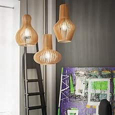 suspension au dessus d une table 94349 suspension en bois naturel pour 233 clairer au dessus d une table ou comptoir de cuisine wood2 par