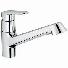 kitchen faucet grohe grohe europlus new single handle pull out sprayer kitchen faucet in starlight chrome 32946002