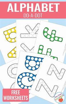 lovely alphabet do a dot printables alphabet activities