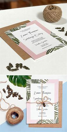 3 diy wedding invitations that are unique and affordable