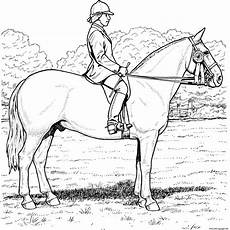 equestrian coloring pages printable