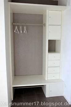 Baublog Hausnummer 17 Ikea Hack Eine Flur Garderobe