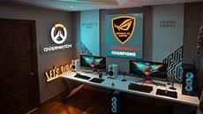 Gaming Zimmer Deko - das perfekte gaming zimmer einrichten ideen und zubeh 246 r