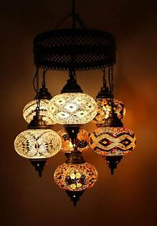 multicolour turkish moroccan style large mosaic hanging l light 7 large globe colorful l