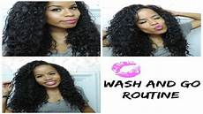 texlaxed wash and go routine youtube
