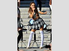 Dress: ariana grande, ariana grande, plaid skirt, skirt