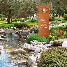 Home Deluxe Edel Rost Garten Gartenschild Gartenstecker