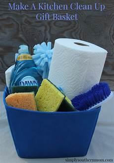 New Kitchen Gifts by Make A Kitchen Cleaning Gift Basket Simply Southern
