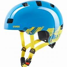 uvex fahrradhelm kinder uvex kid 3 fahrradhelm kinder blau gelb gr 246 223 e 55 58 cm