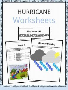 hurricane facts worksheets storm category