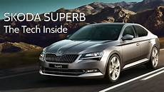 skoda superb the tech inside digit in