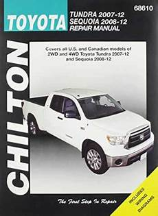 car repair manuals online free 2012 toyota sequoia parking system sell buy or rent chilton total car care toyota tundra 2007 2012 s 9781620920541 1620920549