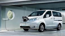 new e nv200 electric electric vehicle nissan