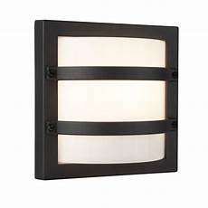 searchlight lighting single light outdoor wall fitting in dark grey finish with opal white shade