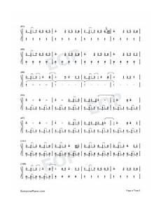 i lived onerepublic free piano sheet music piano chords