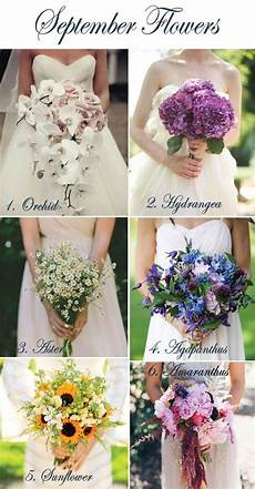 Best Wedding Flowers For September