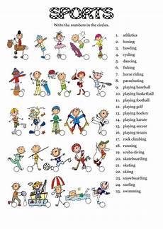 sport worksheets for year 1 15896 sports interactive worksheet taller de ingles