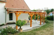 pergola en bois couverte pergolas bois couverte